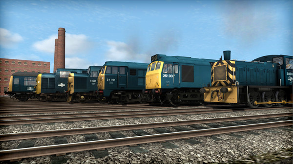 скриншот Train Simulator: BR Blue Pack Loco Add-On 5