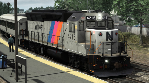скриншот Train Simulator: NJT GP40PH-2B Loco Add-On 0
