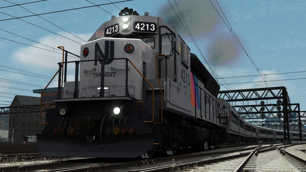 скриншот Train Simulator: NJT GP40PH-2B Loco Add-On 2