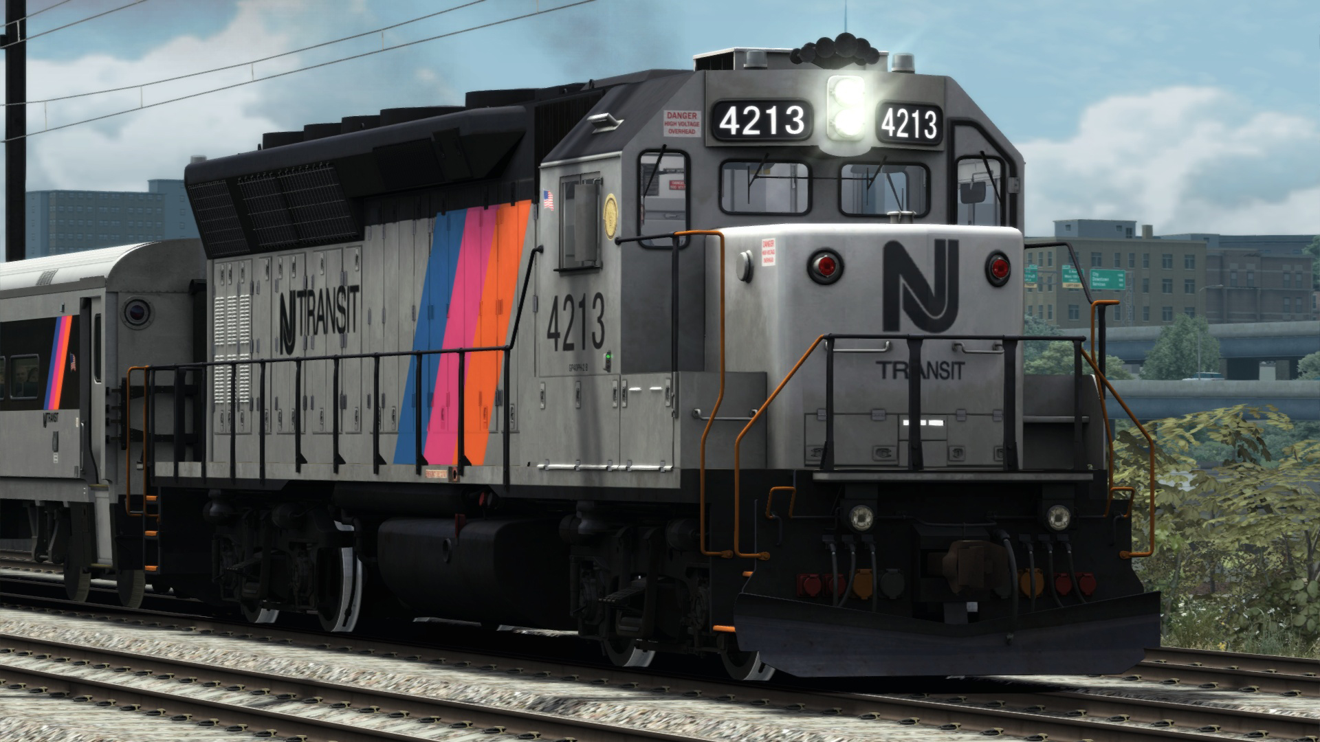 Train Simulator: NJ TRANSIT® GP40PH-2B Loco Add-On