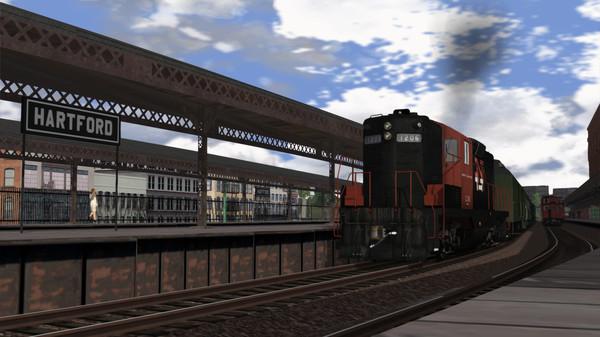скриншот Train Simulator: Springfield Line: Springfield – New Haven Route Add-On 4