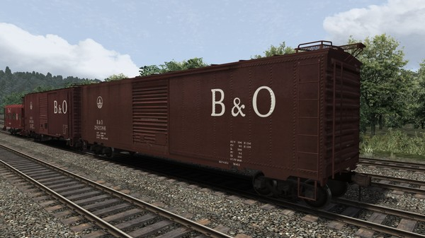 скриншот Baltimore & Ohio Wagon Pack 0