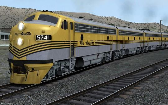 скриншот D&RGW EM F7 Add-On Livery 3
