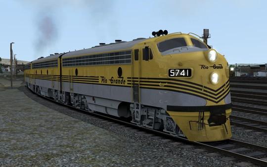 скриншот D&RGW EM F7 Add-On Livery 0