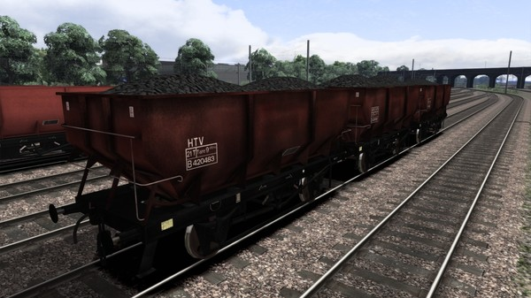 скриншот Rebodied dia. 1/146 HTV 21t Coal Hoppers Wagon Pack 3