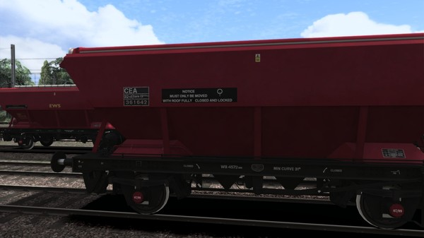 TS Marketplace: EWS CEA Covered Hopper Wagon Pack