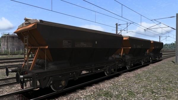скриншот TS Marketplace: Loadhaul CEA Covered Hopper Wagon Pack 3