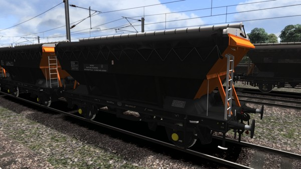скриншот TS Marketplace: Loadhaul CEA Covered Hopper Wagon Pack 4