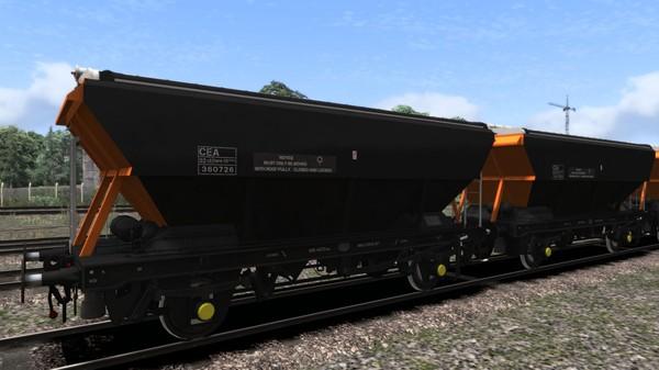 скриншот TS Marketplace: Loadhaul CEA Covered Hopper Wagon Pack 1