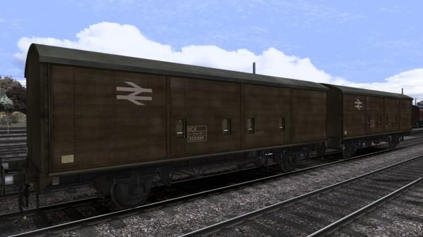 скриншот TS Marketplace: VCA 45t GLW 2 axle vans Wagon Pack 0