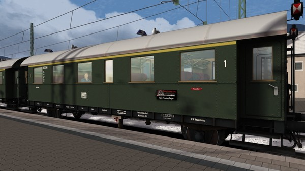 скриншот TS Marketplace: DB Donnerbüchsen Coaches Pack 2
