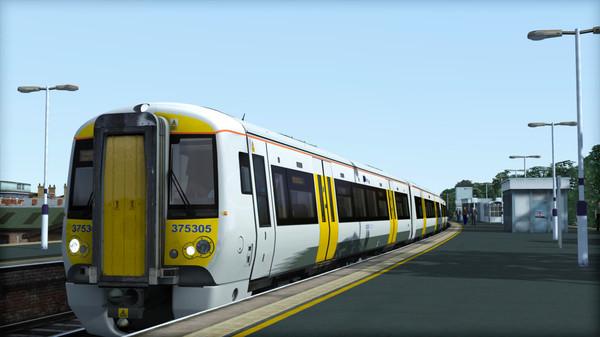 скриншот TS Marketplace: Southeastern Class 375 Dark Blue Livery Add-On 2