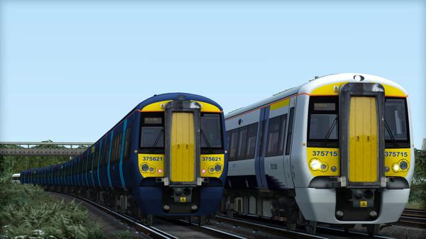 скриншот TS Marketplace: Southeastern Class 375 Dark Blue Livery Add-On 0