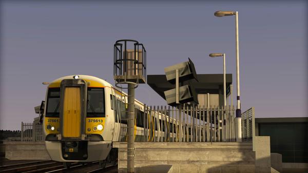 скриншот TS Marketplace: Southeastern Class 375 Dark Blue Livery Add-On 4