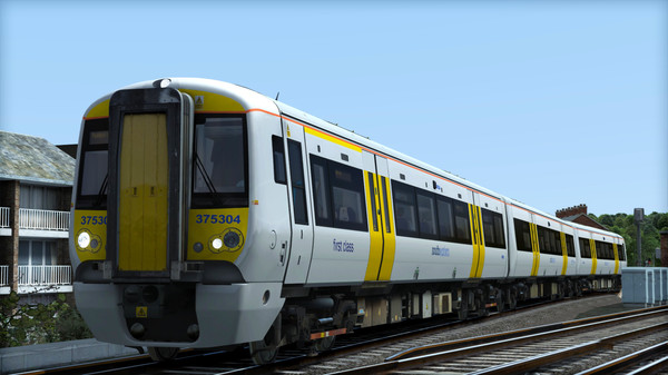 скриншот TS Marketplace: Southeastern Class 375 Dark Blue Livery Add-On 5
