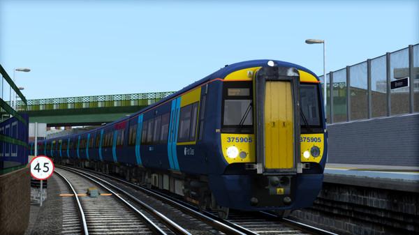 скриншот TS Marketplace: Southeastern Class 375 Dark Blue Livery Add-On 1