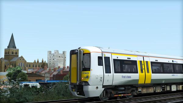скриншот TS Marketplace: Southeastern Class 375 Dark Blue Livery Add-On 3