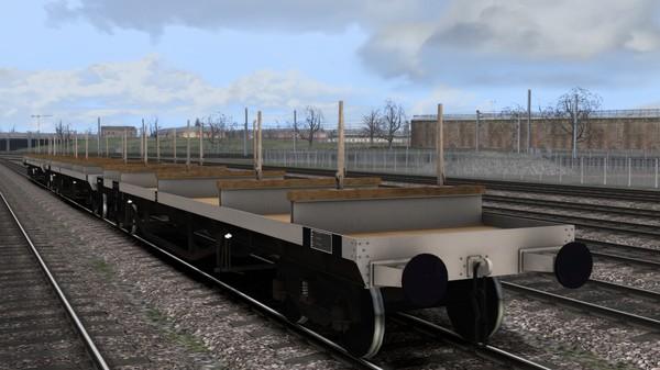 скриншот TS Marketplace: BDO 60T Unfitted Bogie Bolster Wagon Pack 2