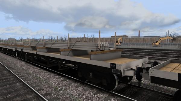 скриншот TS Marketplace: BDO 60T Unfitted Bogie Bolster Wagon Pack 1