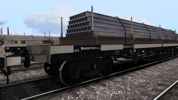 скриншот TS Marketplace: BDO 60T Unfitted Bogie Bolster Wagon Pack 0