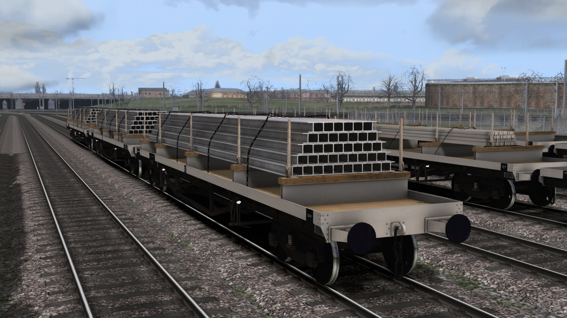 TS Marketplace: BDO 60T Unfitted Bogie Bolster Wagon Pack