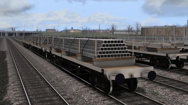 скриншот TS Marketplace: BDO 60T Unfitted Bogie Bolster Wagon Pack 3