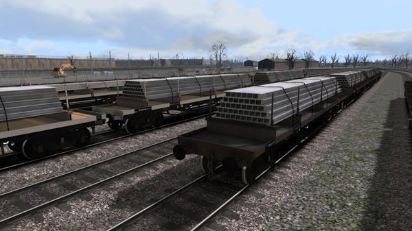 скриншот TS Marketplace: BDO 60T Unfitted Bogie Bolster Wagon Pack 4