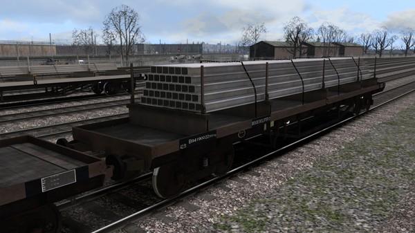скриншот TS Marketplace: BDO 60T Unfitted Bogie Bolster Wagon Pack 5