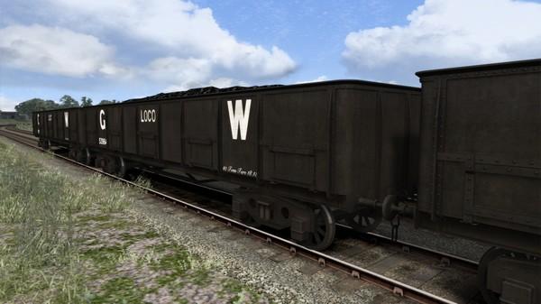скриншот TS Marketplace: GWR 40t Coal Wagon Pack 2