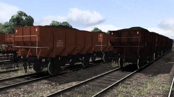 скриншот TS Marketplace: dia. 1/146 HTV 21t Coal Hopper Wagon Pack 4