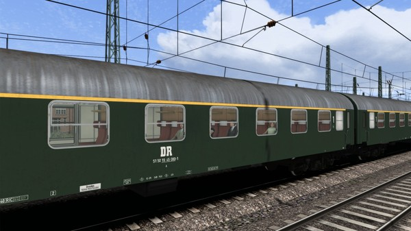скриншот TS Marketplace: DR Schnellzugwagen Type YB Coach Pack 2