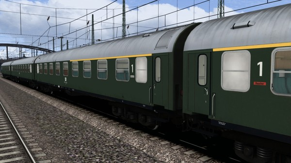 скриншот TS Marketplace: DR Schnellzugwagen Type B Coach Pack 2