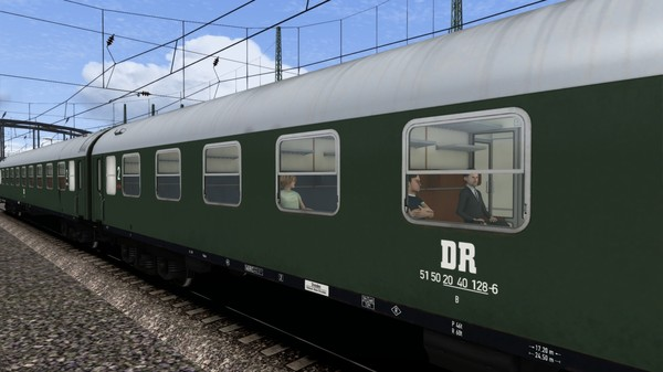 скриншот TS Marketplace: DR Schnellzugwagen Type B Coach Pack 1