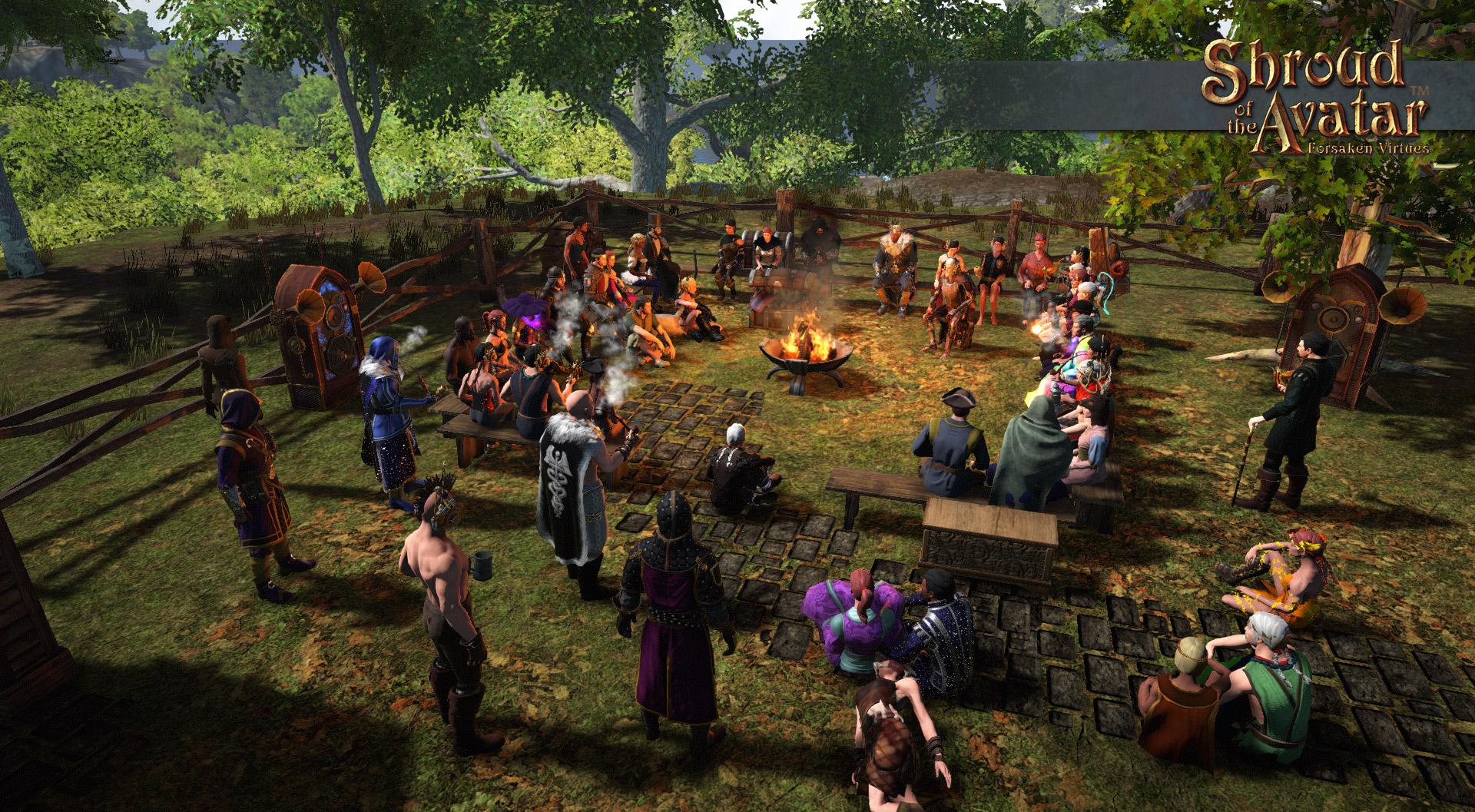 Shroud of the Avatar: Forsaken Virtues on Steam