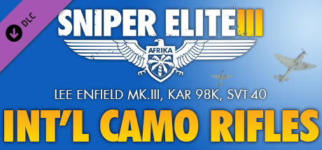 Sniper Elite 3 - International Camouflage Rifles Pack