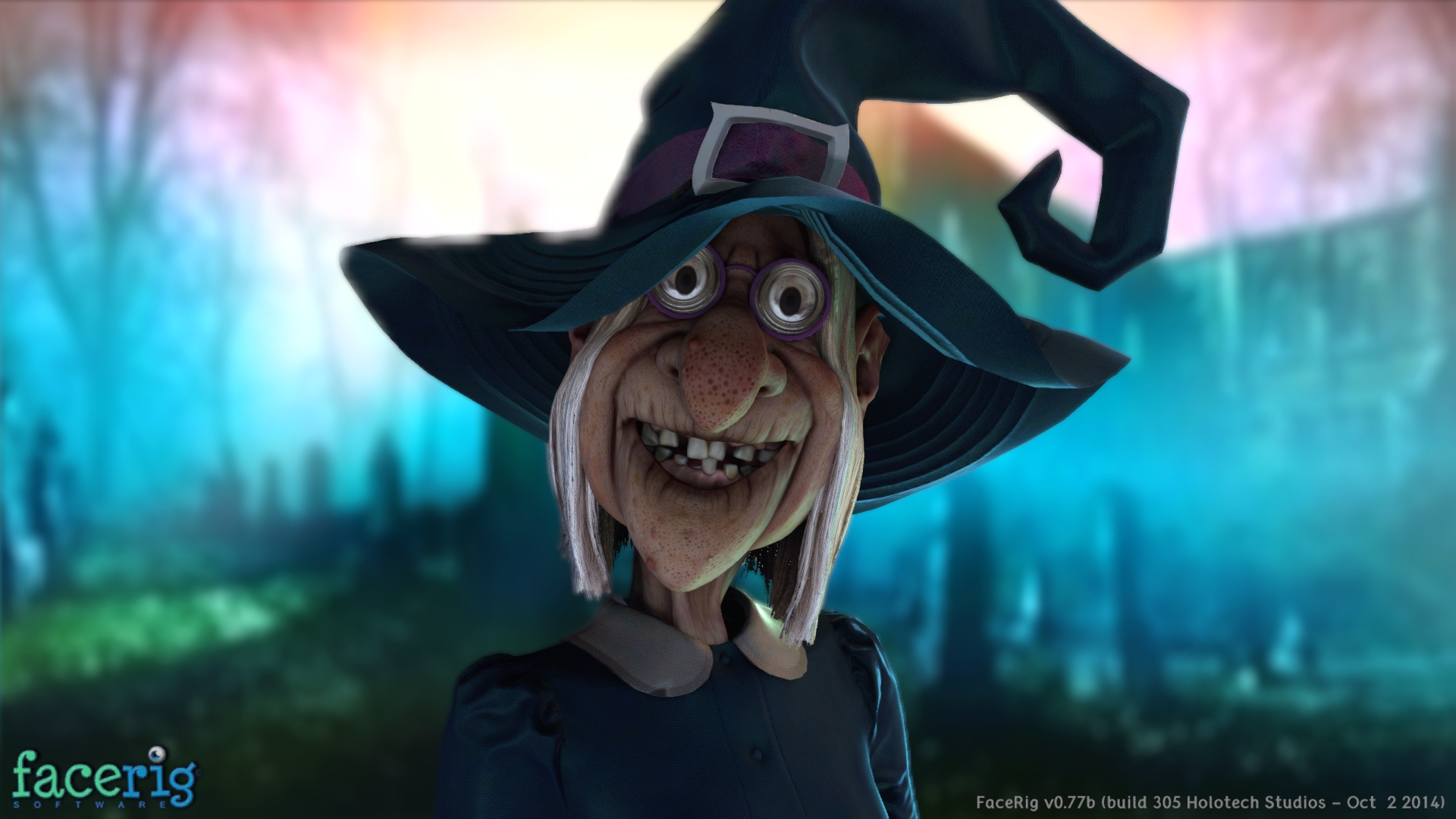 Facerig Halloween Avatars 2014