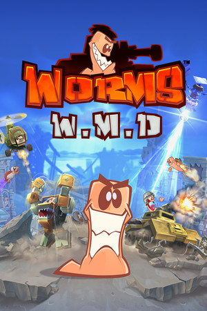 Worms W.M.D poster image on Steam Backlog
