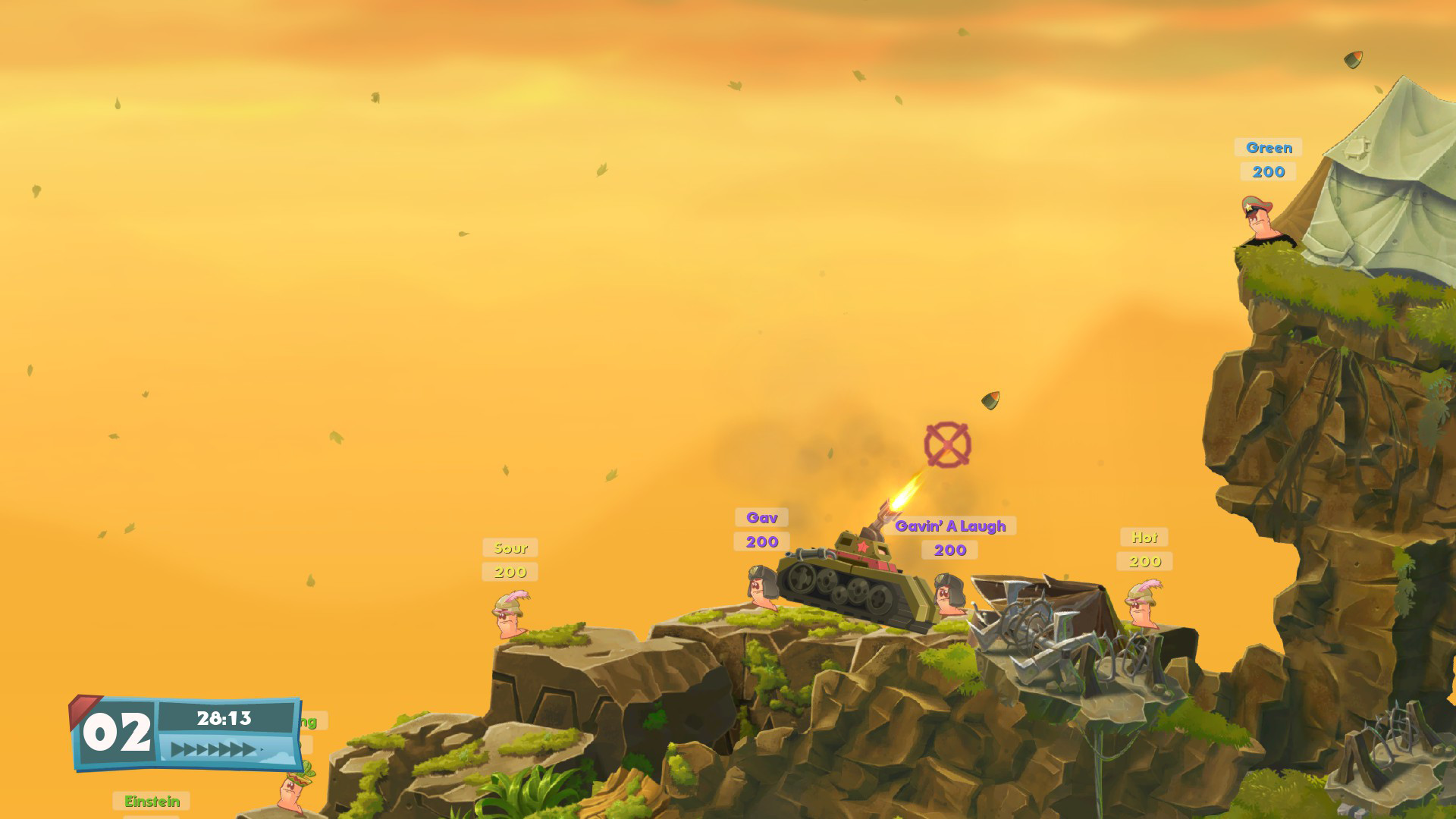 Worms W.M.D screenshot 2