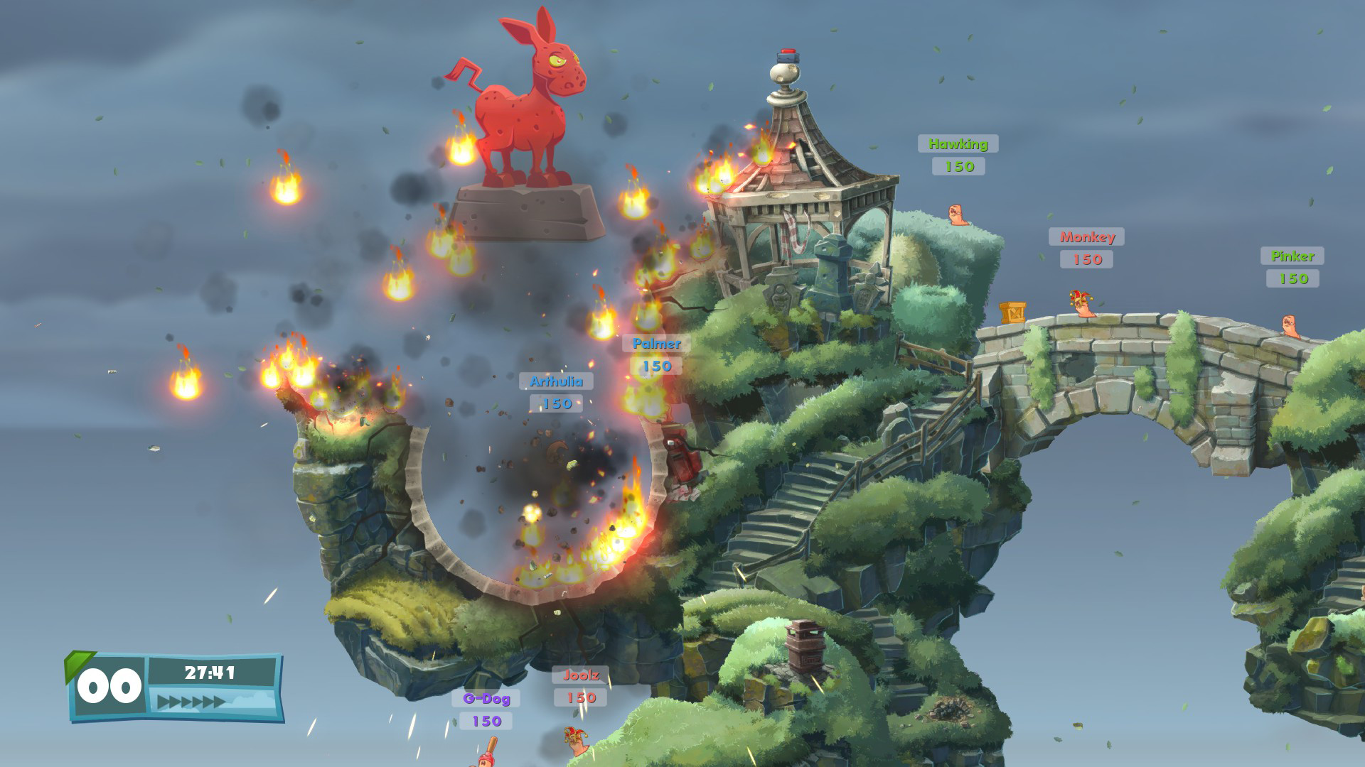 Worms 2: armageddon iphone game free. Download ipa for ipad.