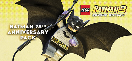 LEGO Batman 3: Beyond Gotham DLC: Batman 75th Anniversary