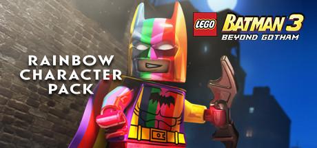 LEGO Batman 3: Beyond Gotham DLC: Rainbow Character Pack