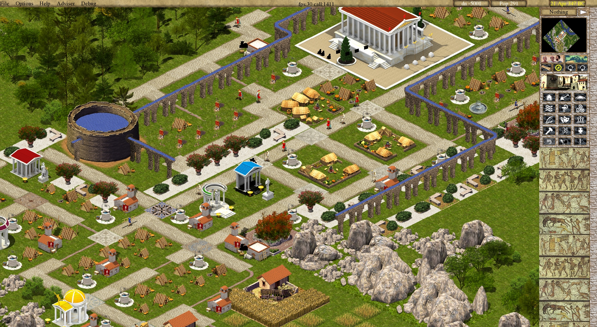 Caesar 3 building strategy
