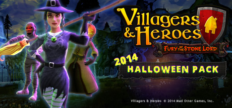 Villagers and Heroes: 2014 Halloween Pack