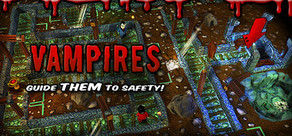 Vampires: Guide Them to Safety! cover art