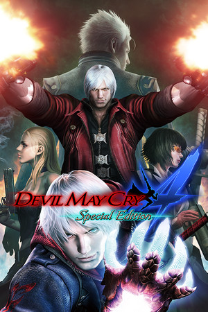 Devil May Cry 4 Special Edition poster image on Steam Backlog