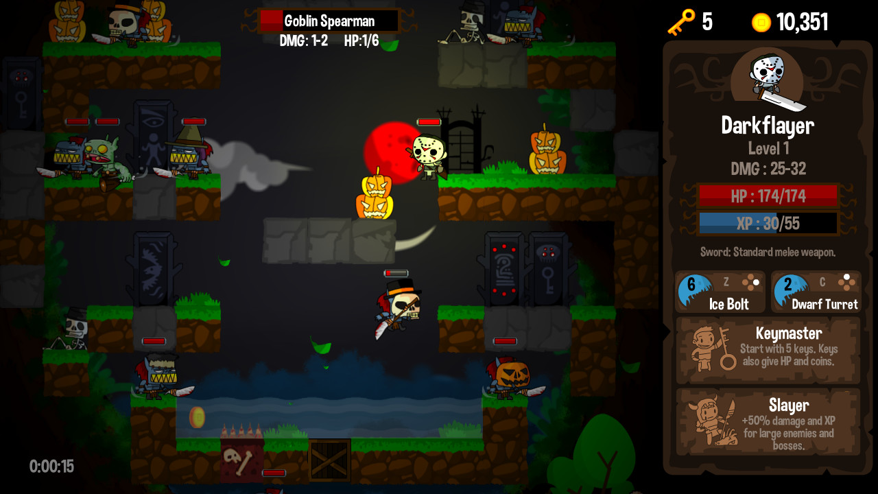 Vertical Drop Heroes HD: Halloween Theme 2014 pc game Img-3