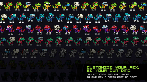 скриншот JumpJet Rex 5