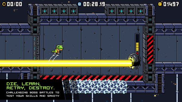 скриншот JumpJet Rex 4