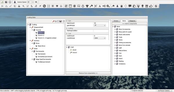 Скриншот из MyRPG Master
