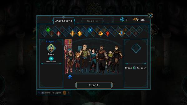 скриншот Children of Morta 1